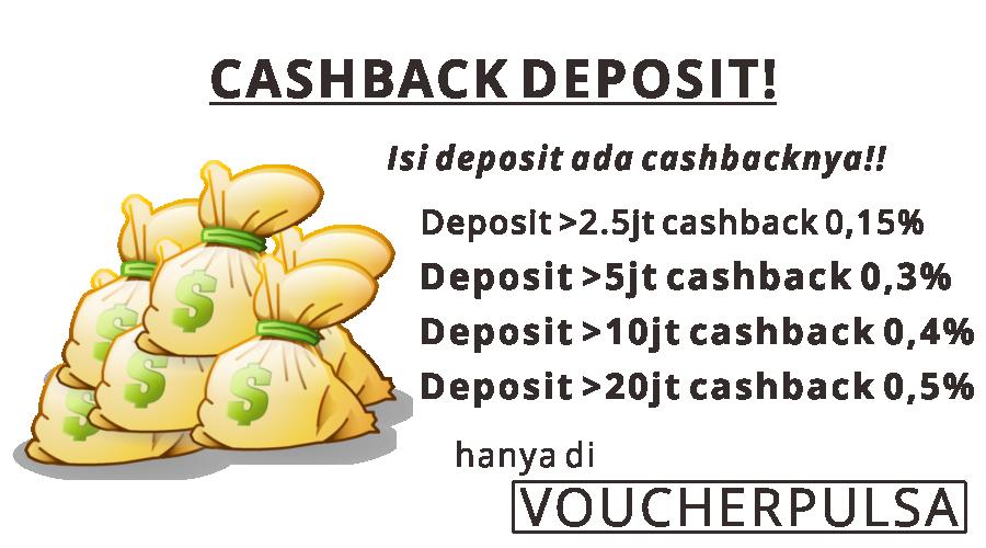 Cashback Deposit